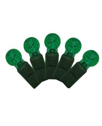 G12 green LED Christmas Lights