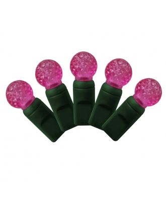 G12 pink LED Christmas Lights