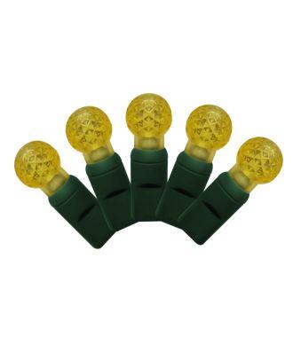 G12 yellow LED Christmas Lights