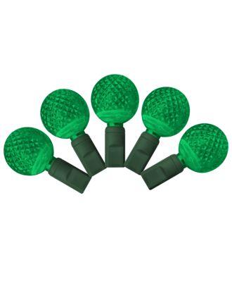 G25 green LED Christmas Lights