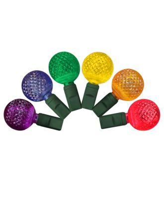 G25 multi colored LED Christmas Lights 50 bulbs