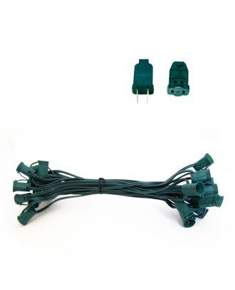 C7 Green Light String SPT1 25 ft
