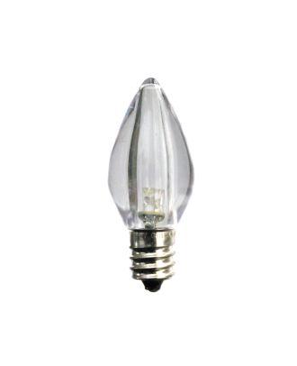 C7 Cool White Smooth finish LED Bulb