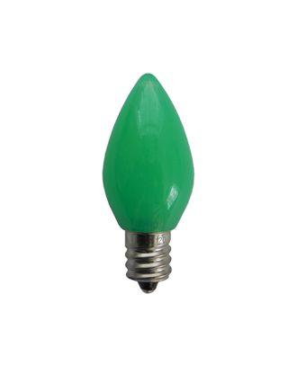 C7 Opaque Green Retro LED Bulb