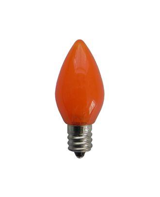 C7 Opaque Orange Retro LED Bulb