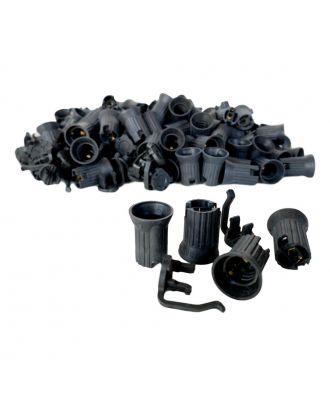 C7 Black Sockets SPT-1 100 pcs