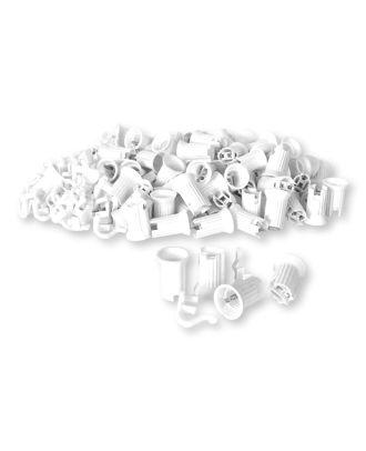 C7 White Sockets SPT-1 100 pcs