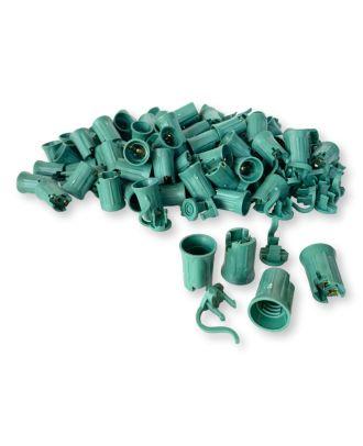 C7 green Sockets SPT-2 100 pcs