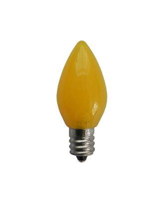C7 Opaque Yellow Retro LED Bulb