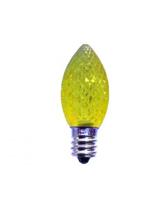 yellow  C7 LED Bulb replacement