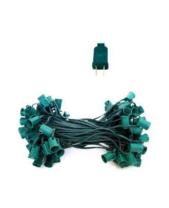 Green C9 100 ft Light String SPT-1