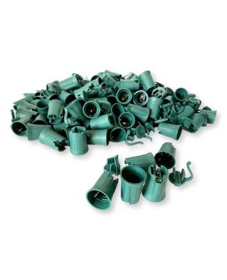 C9 Green Sockets SPT-2 100 pcs