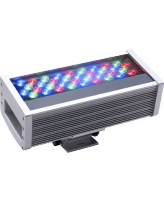 Wall Washer with (36) 1 Watt (RGB) Colored LED's