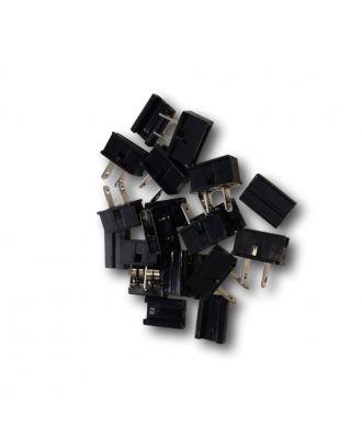 10 black Male Plug Spt-1